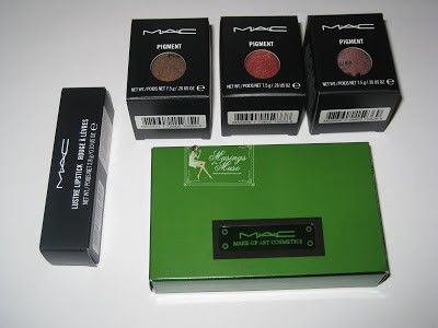 MAC Colour Forms Swatches and Review