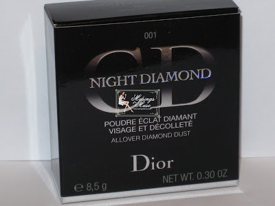 Dior Night Diamond All Over Diamond Dust Powder Review, Swatches, and Photos