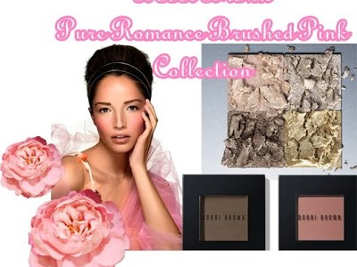 Bobbi Brown Pure Romance Blushed Pink Collection