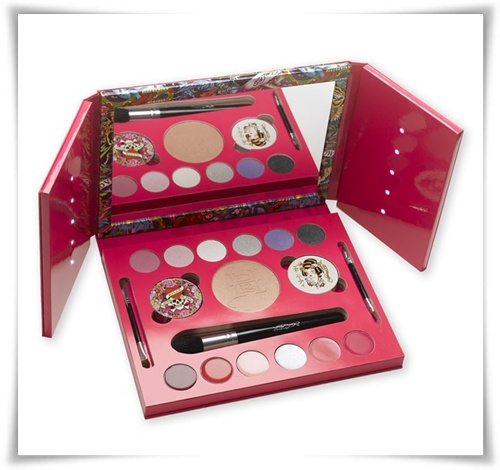 Would You Buy It?  Ed Hardy Color Love Kills Slowly and Geisha Makeup Kits