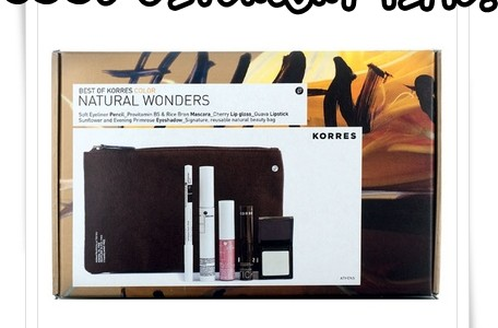 Korres Natural Wonders Color Collection Giveaway and Contest