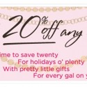 Benefit Cosmetics 20% Promo Code Coupon Code