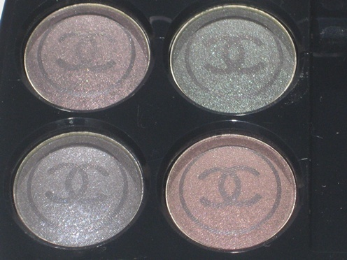 Chanel Quatuor Boutons De Chanel Les Folies Palette Review