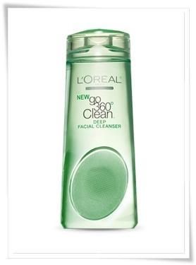 L'Oreal 360° Deep Facial Cleanser 3