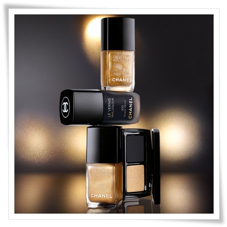 Chanel Nor Et Chanel Paris Shanghai Makeup Collection 2
