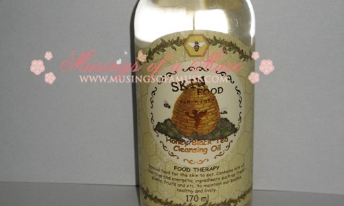 Beauty Abroad: The Skin Food Honey Black Tea Cleansing Oil Review