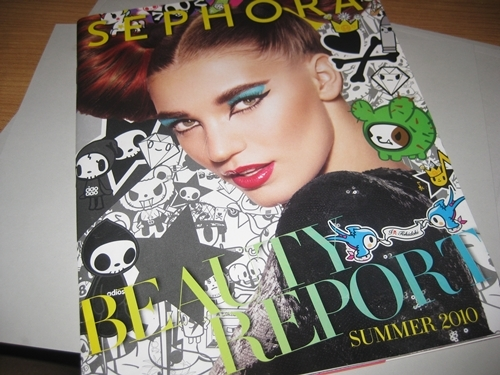 Sephora Summer Catalog 20101