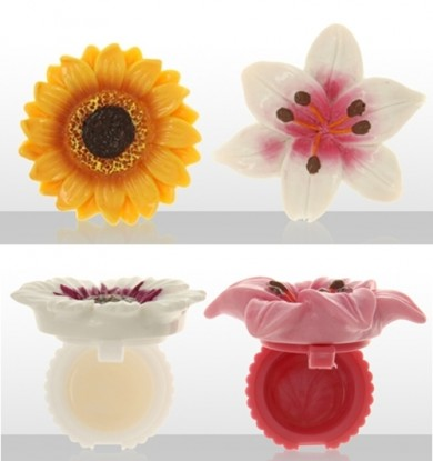 Flower Power Lip Balm Pots