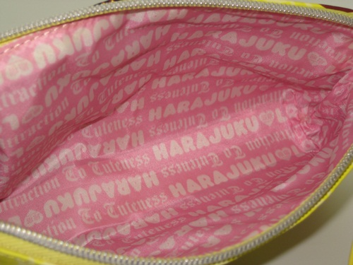 Harajuku Lovers Sunshine Cuties Bag Collection and Harajuku Lovers Makeup Girls Bag Collection