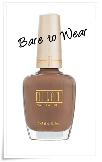 Milani Cosmetics Bare It All Collection 4