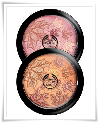 The Body Shop Fall Cheek Face Powder 2010
