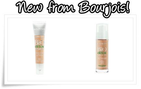 Bourjois Bio Detox Organic Foundation and Bourjois Bio Detox Organic Foundation Concealer 001