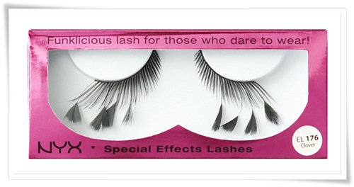 NYX Special Effects Lashes and NYX Fabulous Lashes for Halloween 13