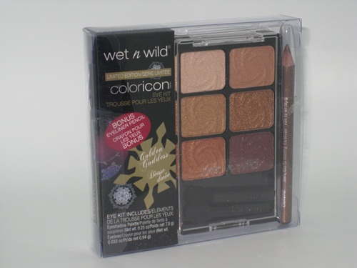 Wet n Wild ColorIcon Holiday Palette Golden Goddess 3