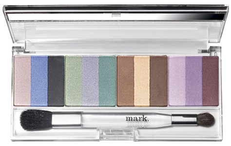 Mark Seeing Stripes Eye Color Trios & Snap To It Palette Set