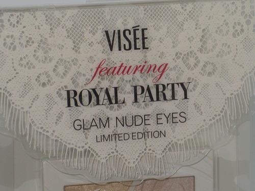 Visee Royal Party Glam Nude Eyes Blond Fur 2