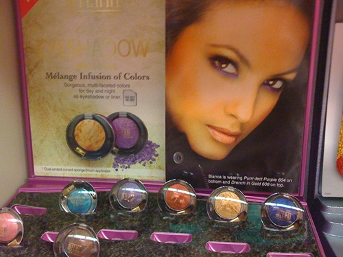 Milani Melange Infusion of Colors Marble and Milani Metallic Baked Eyeshadows 2