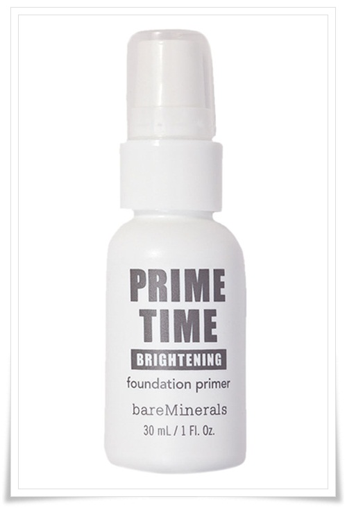 Bare Escentuals Prime Time Brightening Foundation Primer and Bare Escentuals Prime Time Brightening Eyelid Primer 2