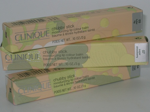 Clinique Chubby Moisturizing Lip Colour Balm 12