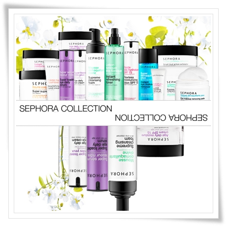 Sephora Skincare HydroSenn Collection and Sephora Anti Aging Skincare Collection
