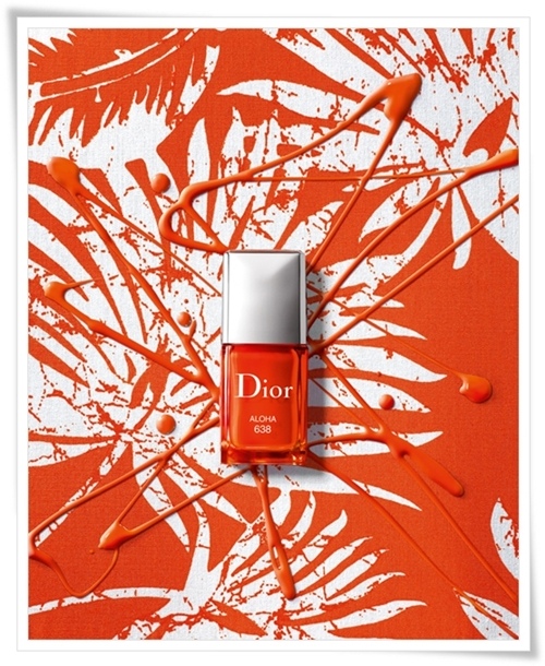 Dior Vernis Aloha and Paradise for Dior Makeup Summer 2011