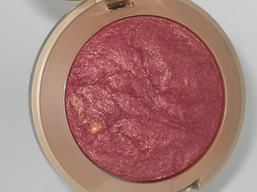 Milani Baked Blush Red Vino 003