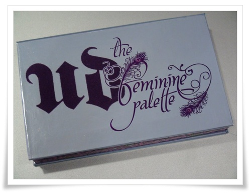 Urban Decay The Dangerous Palette Urban Decay The Fun Palette Urban Decay The Feminine Palette 005
