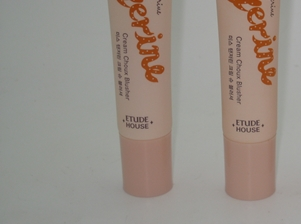Etude House Miss Tangerine Cream Choux Blusher All Sitting Pretty in a Row!