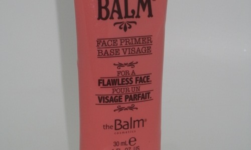 the Balm Time Balm Face Primer Review & Swatches