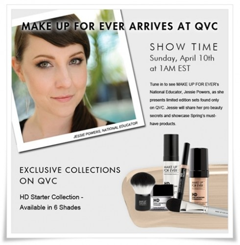 Make Up For Ever Arrives at QVC