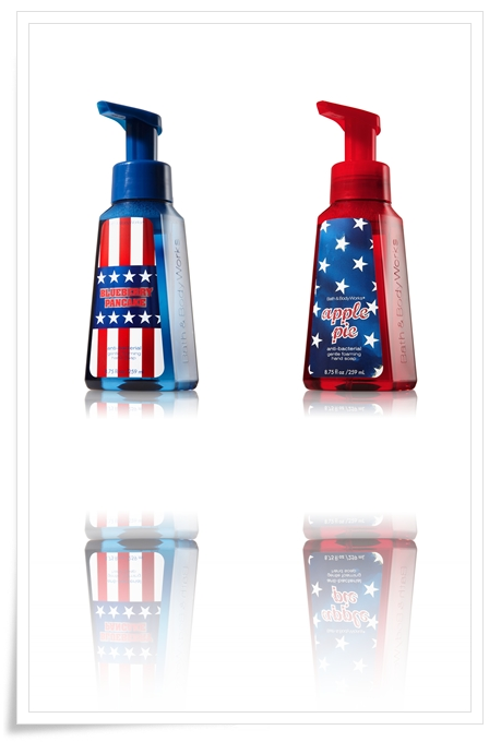 Bath and Body Works Anti Bacterial Gentle Foaming Hand Soap Apple Pie and Blueberry Pancake Summer 2011