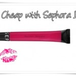 Cheap Thrills with Sephora Glossy Gloss