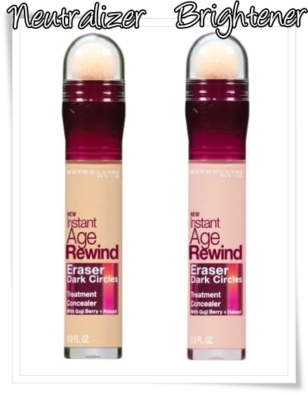 Maybelline Instant Age Rewind Eraser Dark Circle Treatment Concealer 2011