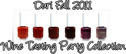 Duri Fall 2011 Wine Tasting Party Nail Polish Collection 003