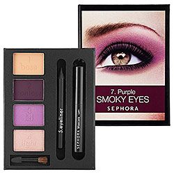 Sephora Beauty In A Box Purple Smoky Eyes Tutorial $10
