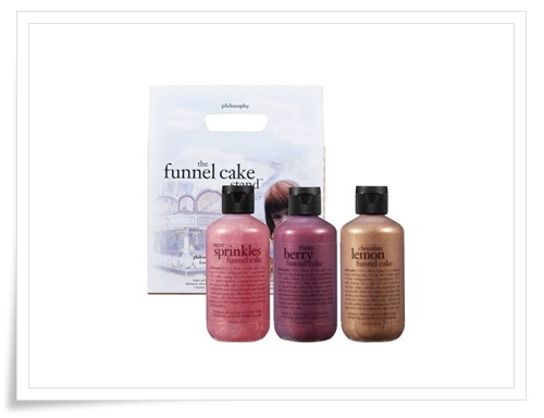 Philosophy The Funnel Cake Stand Set Philosophy Sugar Sprinkles Funnel Cake Shower Gel Lipshine 001