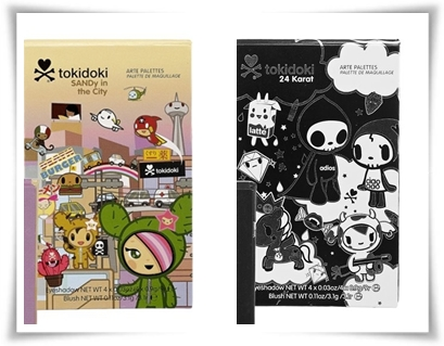 TokiDoki Art Palettes for Tokidoki Holiday 2011