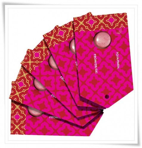 Avon Glossful Greetings Gift Tags