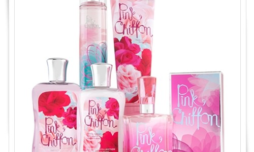 Bath & Body Works Pink Chiffon for Spring 2012