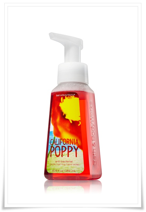 Bath Body Works Anti Bacterial Gentle Foaming Hand Soap Pacific Blue California Poppy Malibu Citrus 1