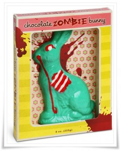 Chocolate Bunny Zombie