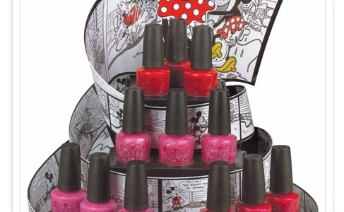 OPI Vintage Minnie Mouse Collection