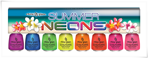 China Glaze Summer Neons Summer 2012 15
