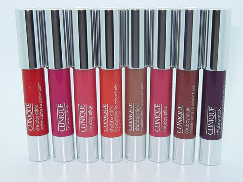 Clinique Chubby Stick Moisturizing Lip Colour Balm New Shades Summer 2012 Swatches 67