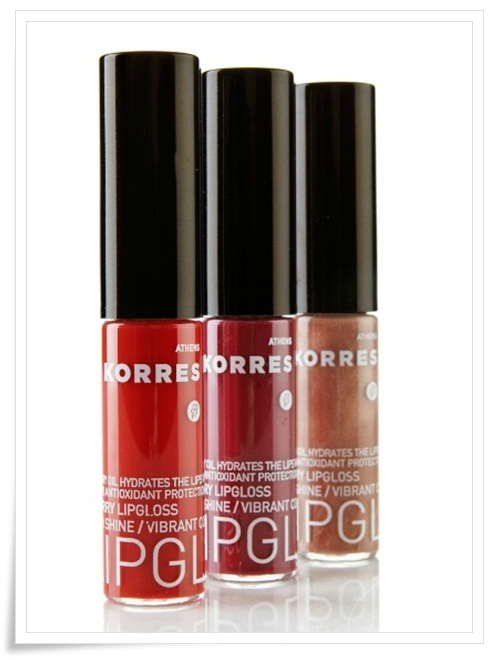 Korres Cherry Oil Lip Gloss Trio 1