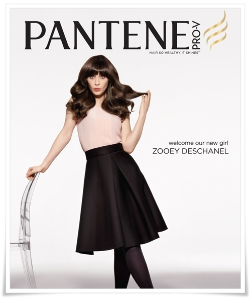 Zooey Deschanel Pantene Spokesperson