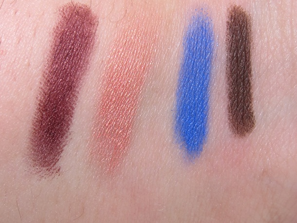 MAC Shade Smoke Shadow Liner Swatches 4