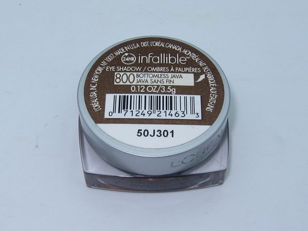 LOreal Infallible Eye Shadow Bottomless Java 3