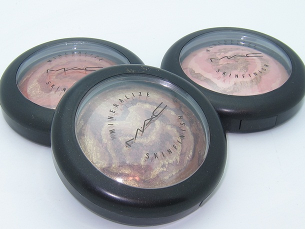 MAC Heavenly Creature Mineralize Skinfinish Swatches 1