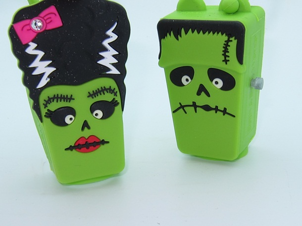 Bath & Body Works Frankenstein & Bride of Frankenstein Pocketbac Holders 2